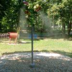 realizace mlžící sprcha mlžící květina