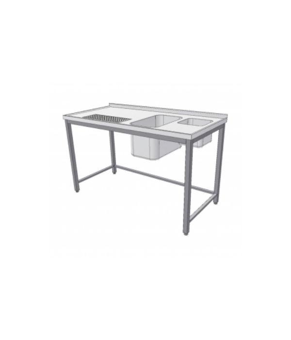 výčepní stůl s dřezem, umývátkem a odkapem
