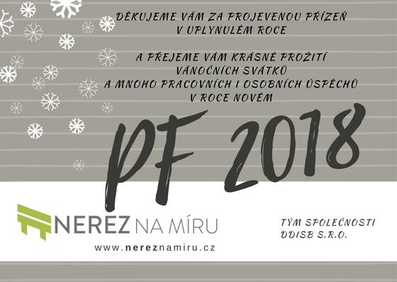 PF 2018 nerez na míru