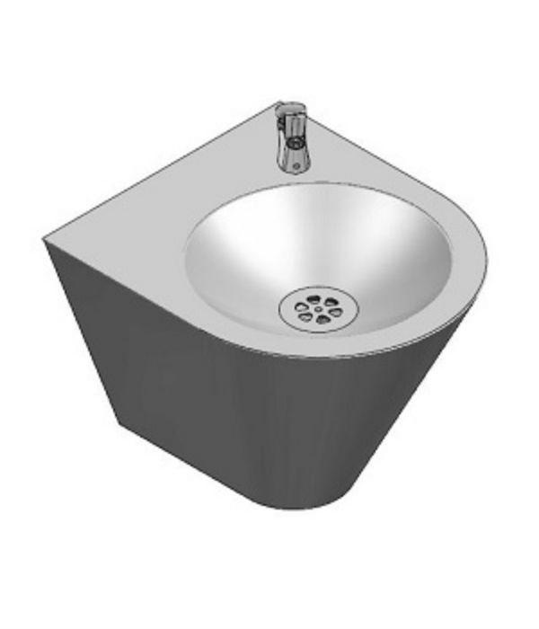 nerezová pitná fontánka