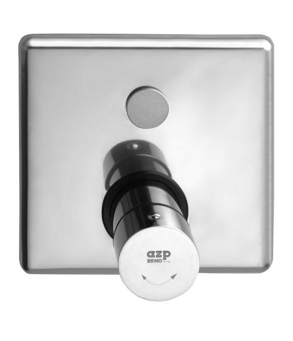 automatická sprchová baterie se směšovacím ventilem, ovládaná piezotlačítkem