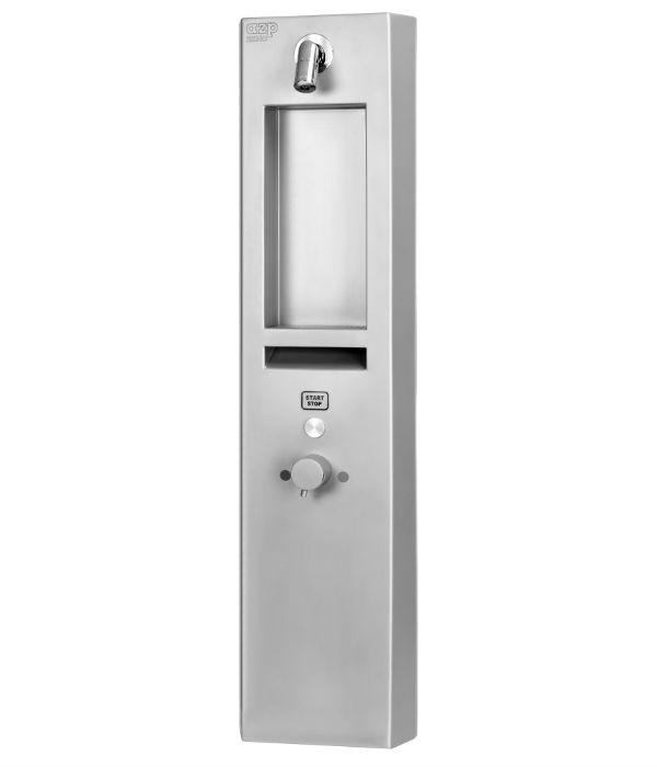 autom.povrchová sprcha na piezoltačítko, s termost.ventilem a ramínkem SP3
