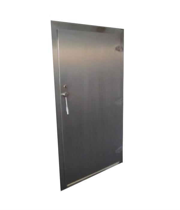 nerezové chladírenské dveře njchz