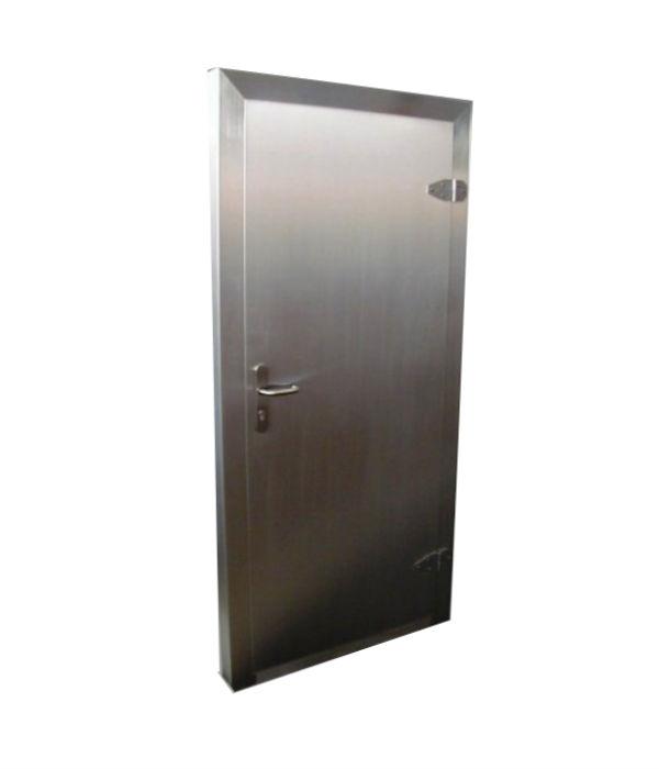 nerezové dveře njoz