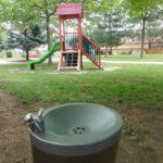 nerezová pitná fontána pro děti AFO 03D