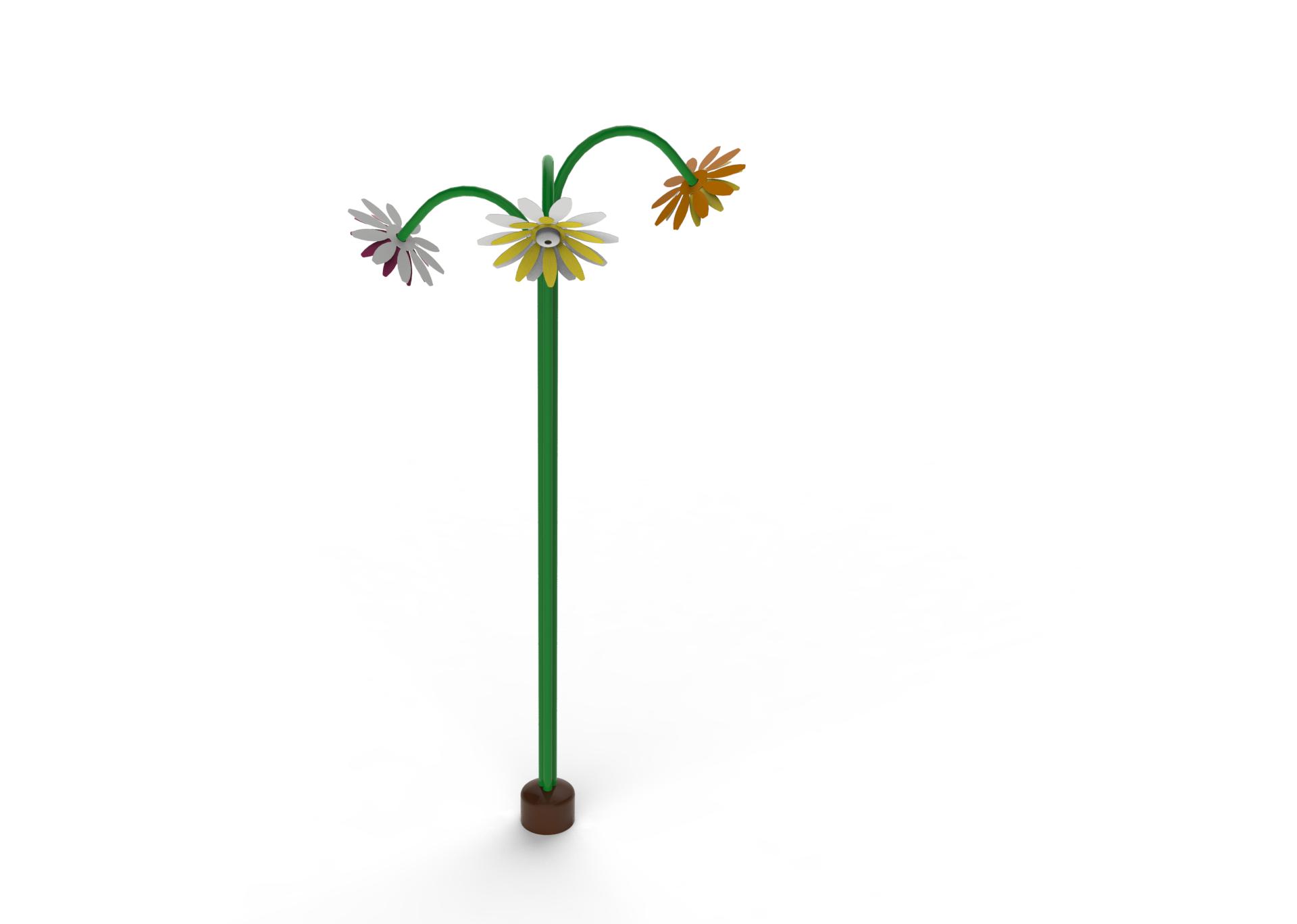 mlžící květina kopretina mlžítko